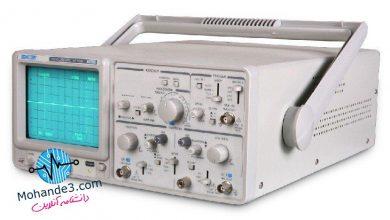 تصویر از اسیلوسکوپ (Oscilloscope)