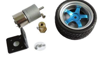 تصویر از محاسبه و انتخاب موتور و چرخ مناسب برای ربات